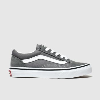 Vans Grau Old Skool Unisex Junior