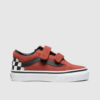 Vans Brown & Black Old Skool V Unisex Junior