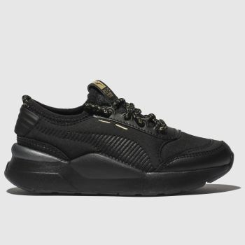 PUMA BLACK & GOLD RS-0 TROPHY TRAINERS JUNIOR