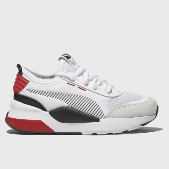 Puma White & Red Rs-0 Wtr Inj Toys Unisex Junior