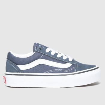 Vans Navy Old Skool Unisex Junior