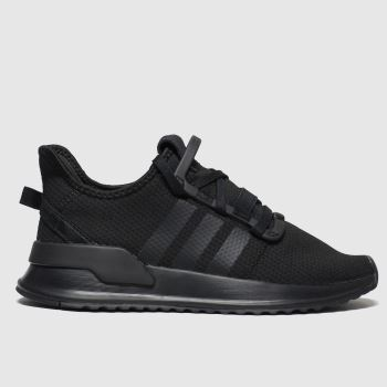 Adidas Black U_path Run Unisex Junior#