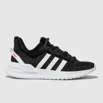 Adidas Black & White U_Path Run Unisex Junior