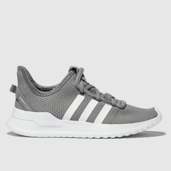 ADIDAS GREY U_PATH RUN TRAINERS JUNIOR