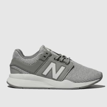 New Balance Grey 247 V2 Unisex Junior