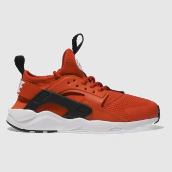 Nike Red Air Huarache Ultra Unisex Junior