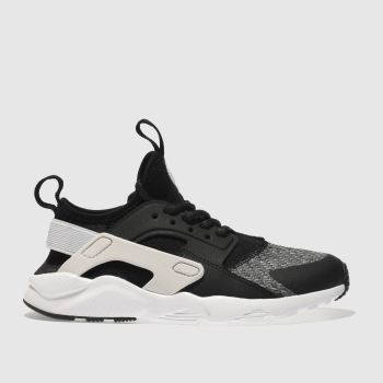 Nike Black & Grey HUARACHE ULTRA SE Unisex Junior