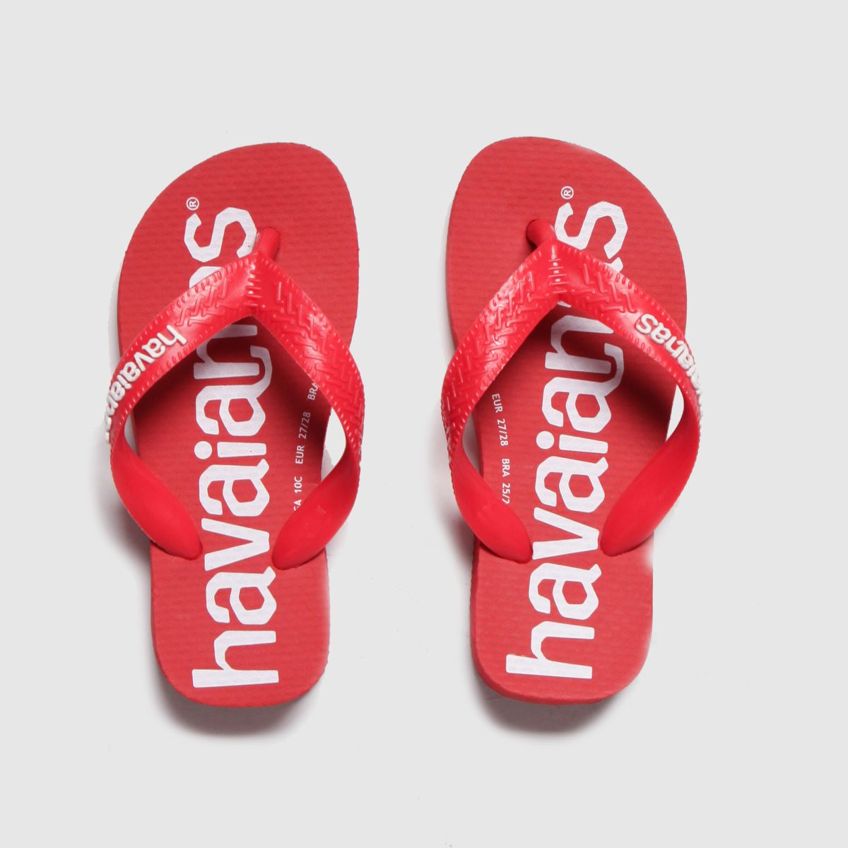 Havaianas Red Top Logomania Trainers Junior