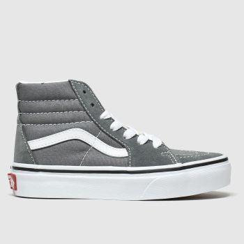 Vans Grey Sk8-hi Unisex Junior