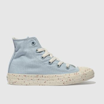 Converse Pale Blue CHUCK TAYLOR ALL STAR HI Unisex Junior