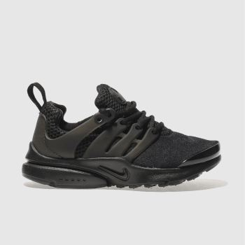 NIKE BLACK PRESTO TRAINERS JUNIOR