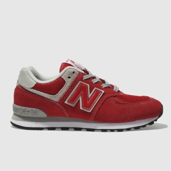 New Balance Rot 574 Unisex Junior