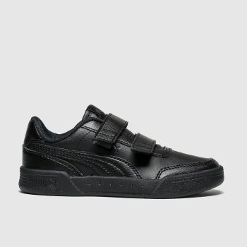 Puma Black Caracal Unisex Junior
