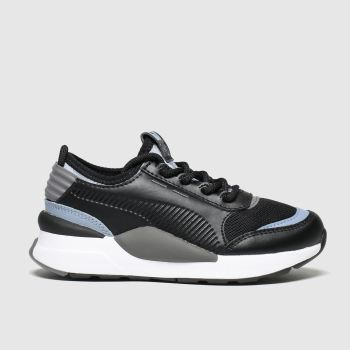 Puma Black & Grey Rs-0 Smart Unisex Junior
