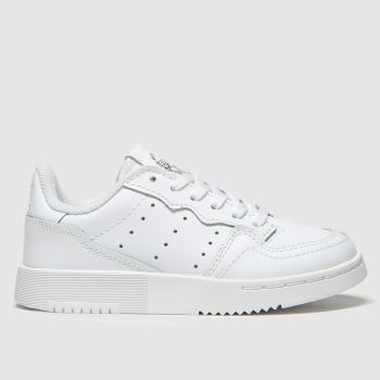 Adidas White Supercourt c2namevalue::Unisex Junior