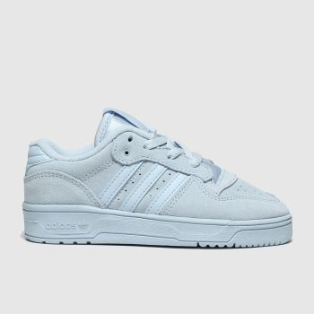 Adidas Pale Blue Rivalry Low Unisex Junior