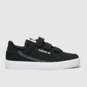 adidas Black & White Continental Vulc Cf Unisex Junior