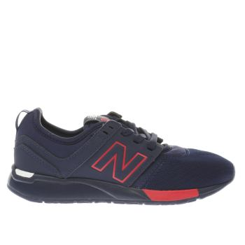 New Balance Navy 247 Unisex Junior