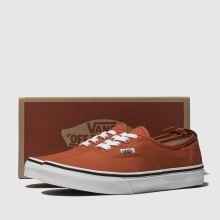 eaf19323360674 Kinder Orange vans Authentic Elastic Lace Sneaker Junior
