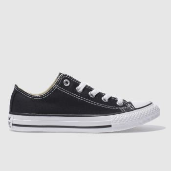 Converse Black ALL STAR LO Unisex Junior
