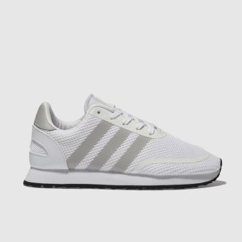 Adidas White & grey N-5923 Unisex Junior