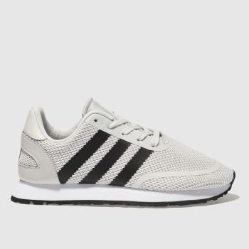 Adidas Light Grey N-5923 Unisex Junior