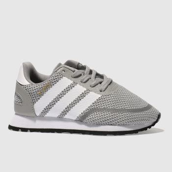 Adidas Grey N-5923 Unisex Junior