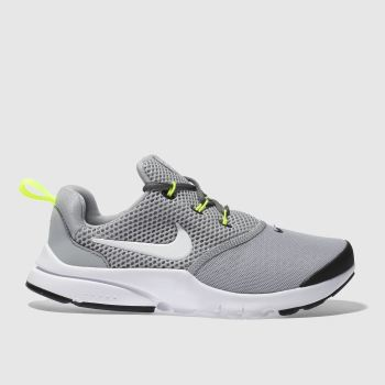 Nike Grey Presto Fly Unisex Junior