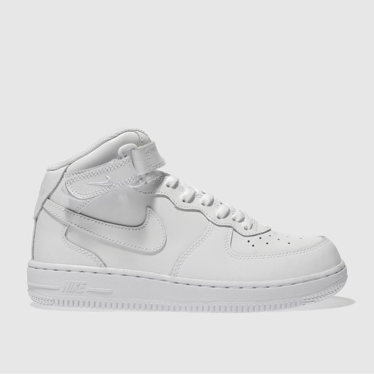 super popular e87aa f0c9d Nike White Air Force 1 Mid Junior Trainers   £43.00   Gay Times
