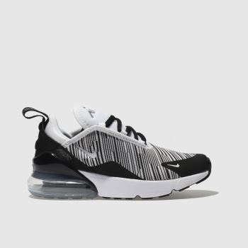 Nike White Air Max 270 Knit Unisex Junior