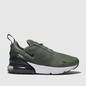 check out fdd1f 889d3 Nike Khaki Air Max 270 Unisex Junior
