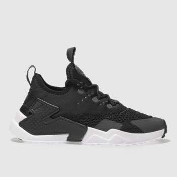 Nike Black Hurache Run Drift Unisex Junior