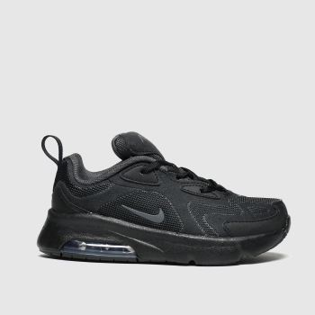 Nike Black Air Max 200 Unisex Junior