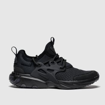 Nike Black Presto React Unisex Junior