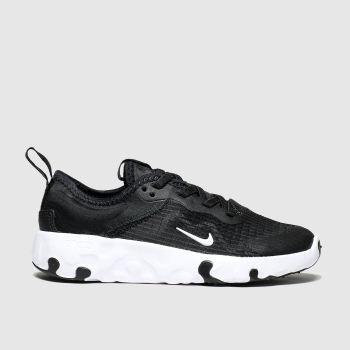 Nike Black & White Renew Lucent c2namevalue::Unisex Junior
