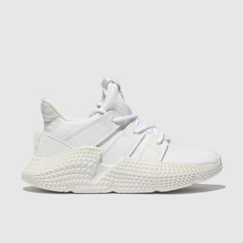 Adidas White Prophere Unisex Junior