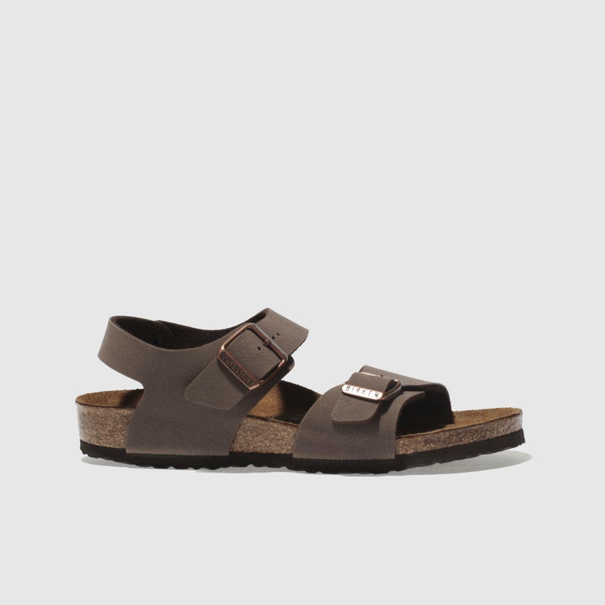 Birkenstock Brown New York Sandals Junior