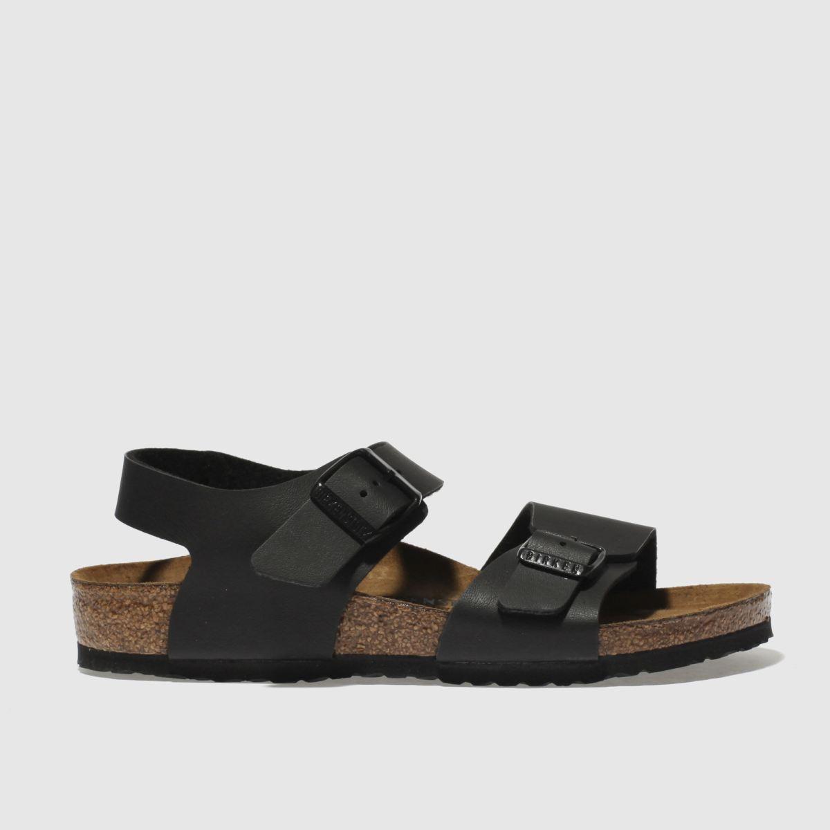 Birkenstock Black New York Sandals Junior