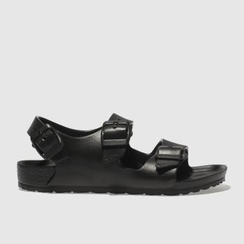 Birkenstock Black Milano Eva c2namevalue::Unisex Junior
