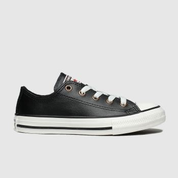 Converse Black All Star Lo Mission Warmth Unisex Junior