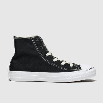 Converse Black & White Chuck Taylor All Star Renew Hi Unisex Junior