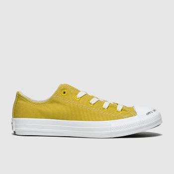 Converse yellow chuck taylor all star renew lo trainers junior