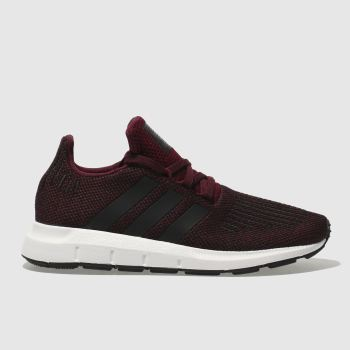 Adidas Burgundy Swift Run Unisex Junior