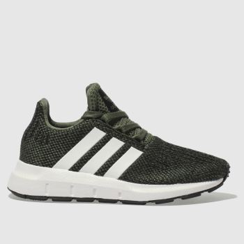 Adidas Khaki SWIFT RUN Unisex Junior