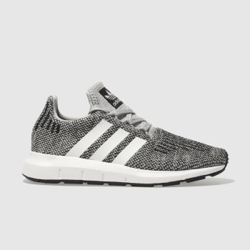 Adidas Grey Swift Run Unisex Junior