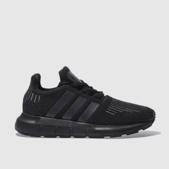 KINDER ADIDAS SCHWARZ SWIFT RUN SNEAKER