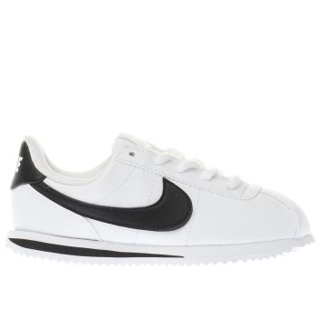 Nike White Cortez Basic Unisex Junior