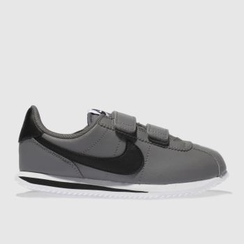 Nike Light Grey Cortez Basic Unisex Junior