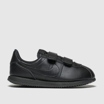 Nike Black Cortez Basic Unisex Junior