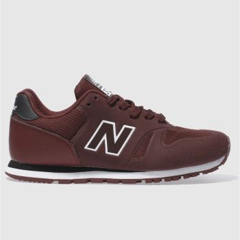 New Balance Burgundy 373 Unisex Junior